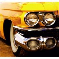 Fotocron Sarı Araba Tablo