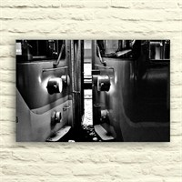 Fotocron Vagonlu Tren Tablo 24X34 Cm