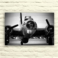 Fotocron Uçak -2 Tablo 24X34 Cm