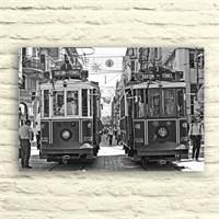 Fotocron Taksim Trenler -3 Tablo 24X34 Cm