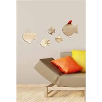 Dekoratif Kırılmaz Ayna Balıklar