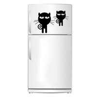 Beyaz Eşya Sticker Sevimli Kediler