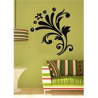 Çiçek Motif Duvar Sticker