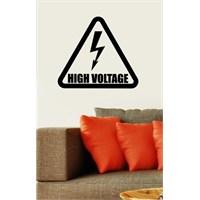 Yüksek Gerilim Duvar Sticker