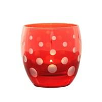 Arte Home Bubble Kırmızı Mumluk