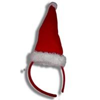 Noel Şapkası Şeklinde Yılbaşı Tacı