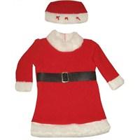 Polar Noel Anne Elbisesi Kız Bebek 1-2 Yaş