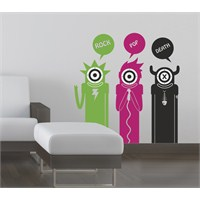 Dekorjinal Yeni Duvar Sticker Nst06
