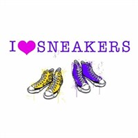 Eurographics I Love Sneakers 25X35 Cm Duvar Sticker