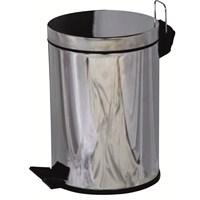 12LT Pedallı Düz Çöp Kovası
