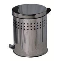 5LT Pedallı Ferfore Çöp Kovası