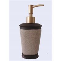 Bronz Kumlu Poliresin Sıvı Sabunluk