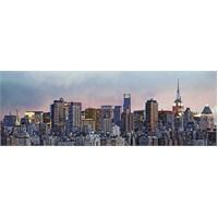 N.York Skyline Duvar Kaplaması 4 Parça / 183 X 254 Cm