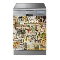 Dekorjinal Bulaşık Makinası Sticker Bms44