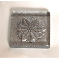 Çiçek Gümüş Simli Mutfak- Banyo Gider Süsü
