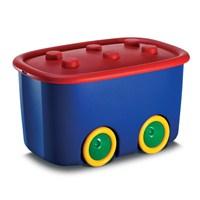 Kis Funny Box L Oyuncak Kutusu Lacivert/Kırmızı