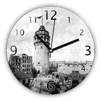 İf Clock Galata Kulesi Duvar Saati