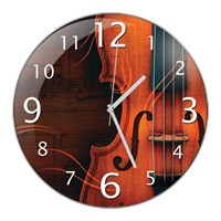 İf Clock Keman Duvar Saati
