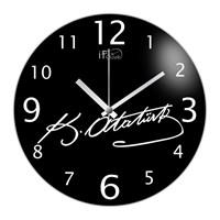İf Clock Atatürk Duvar Saati