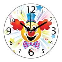 İf Clock Palyaço Duvar Saati
