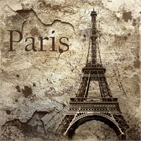 Alldeco Paris Vintage Eyfel Pleksi Tablo 60 X 80 Cm