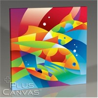 Pluscanvas - Aquatic Iı Tablo