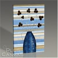 Pluscanvas - Study Of Mimosa İn Blue Tablo