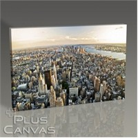 Pluscanvas - New York - Manhattan Panorama Tablo