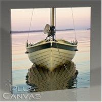 Pluscanvas - Boat On The River Tablo