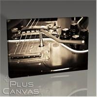 Pluscanvas - Guitar Close Up Tablo