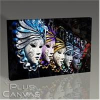 Pluscanvas - Carnival Masks Tablo
