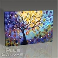 Pluscanvas - Violet Ağaç Tablo