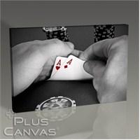 Pluscanvas - Pair Of Aces Tablo