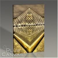 Pluscanvas - Paris - Louvre Pyramid Tablo