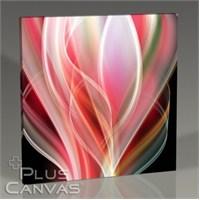 Pluscanvas - Pink Abstract Tablo