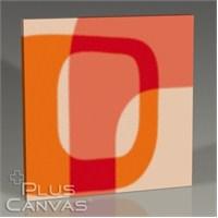 Pluscanvas - Radial Squares I Tablo