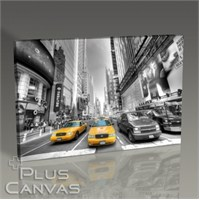 Pluscanvas - New York - Yellow Cab Tablo