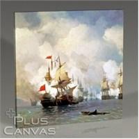 Pluscanvas - Ivan Aivazovsky - Chios Aivaz Tablo