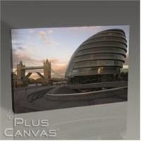 Pluscanvas - London - Egg Building Tablo