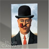 Pluscanvas - Rene Magritte - Pipe Tablo