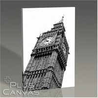 Pluscanvas - Big Ben Perspective Tablo