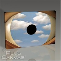 Pluscanvas - Rene Magritte - The False Mirror Tablo