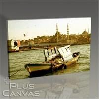 Pluscanvas - İstanbul - Eski Balıkçı Teknesi Tablo