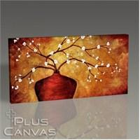 Pluscanvas - Divine Flowering Tablo