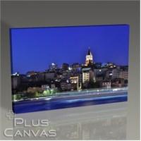 Pluscanvas - İstanbul - Karaköy'den Galata Kulesi Tablo