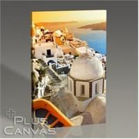 Pluscanvas - Santorini - Oia Kasabası Gün Batımı Tablo