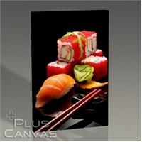 Pluscanvas - 6 Parça Sushi Set Tablo