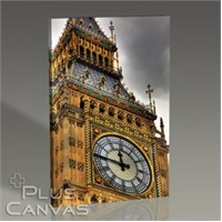 Pluscanvas - London - Big Ben Close-Up Tablo