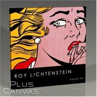 Pluscanvas - Roy Lichtenstein - Crying Girl Tablo