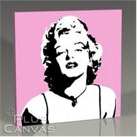 Pluscanvas - Marilyn Monroe - Pink Tablo